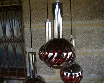 Lamp, Vintage, Retro, Space age