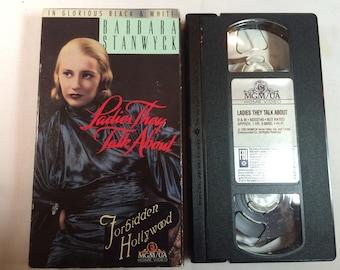 Ladies They Talk About Barbara Stanwyck  B&W VHS 1933 1HR 9 MINS N/R