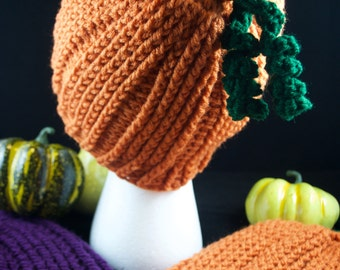 Crocheted Harvest Hats