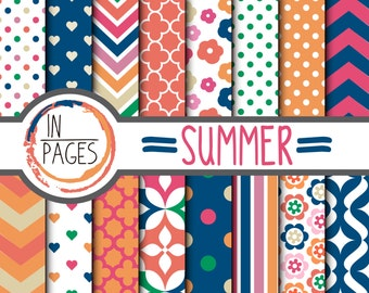 Digital Summer paper by inPagesMx