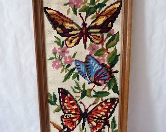 Canvas butterflies