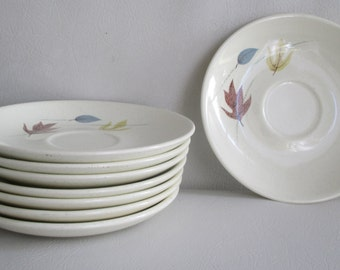 Vintage Mid Century Franciscan Autumn Leaves Small Plates