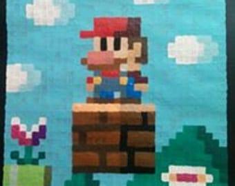8 Bit Mario Painting
