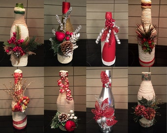 Wine Bottle Home Decor