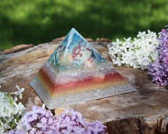 Frozen Shell Orgone Pyramid