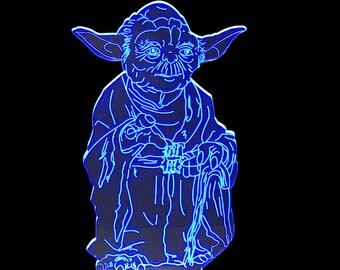 Yoda- LED Night Light Lamp