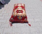 Vintage Turkish Anatolian a handmake Home Decorative carpet  Pillow Cushion Cover 23.6'' X 39.3'' inches or 60 X100cm