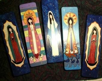 5 Altarpiece set. Virgin Mary