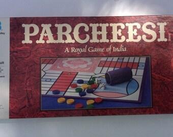 Vintage 1989 parcheesi game