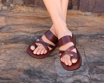 Handmade Leather Sandal (Maroubra)