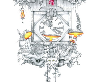 Cuckoo clock Wonderland