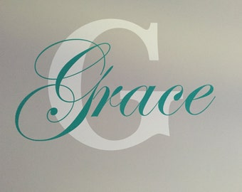 Custom Vinyl Name and Wall Decals