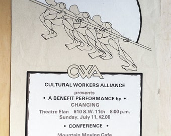 CULTURAL WORKERS ALLIANCE