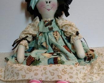 "Rag doll~""Miss Chamomile""  Baby Shower Gift Stuffed Toy Handmade Doll"