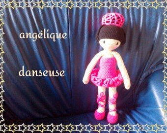 The dancer outfit for the angelic doll tutorial