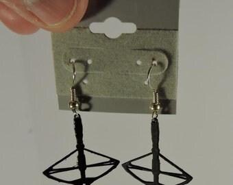 Crossbow Pierced Earrings