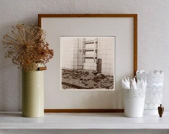 """FineArtPrint """" Schwimmbad """" - Foto,Schwimmhalle,abstrakte Kunst,Lochkamera ,geometrischen Dekor,Photography,Art,Wall Art,camera obscura"""