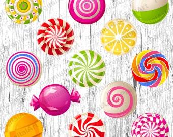 13 Candy clipart,Lollipop clipart,Sweets clipart,cupkake clip,cookies clipart,food clipart,digital cake,scrapbooking clipart,cupcake clipart