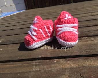 Crochet Adidas , Sneaker crochet, Baby sneaker Adidas inspired, sneakers . Ready to Ship.