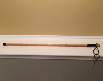 Red cedar walking stick