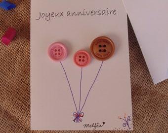 Card happy birthday (Happy birthday)