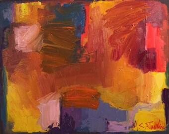 Composition in Orange 1