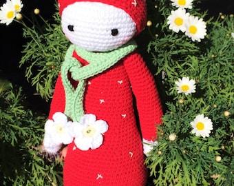 Handmade Strawberry Doll