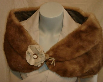 VINTAGE stole mink vintage 1950/60 in very good condition.