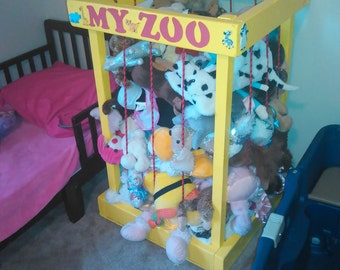 Childrens Stuffed Animal Zoo