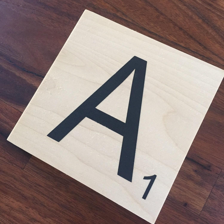 Scrabble Letter Stencil Scrabble Stencil Diy Stencil