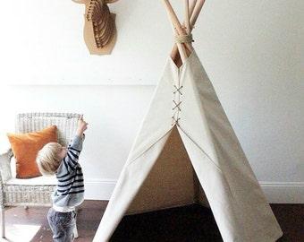 Traditional teepee house inhabit