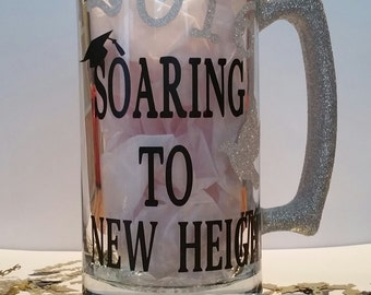 soaring to new hights graduation mug