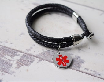 Medical Alert Bracelet - Personalized Bracelet
