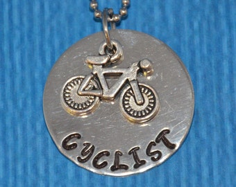 Bike Gifts | Bicycle Necklace | Cyclist Gift | Bike Jewelry | Bike Necklace | Bicycle | Gift Biker | Bicycle Jewelry | Cyclist Necklace |