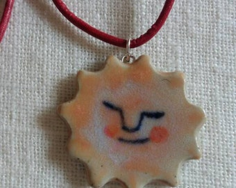 Necklace with the Sun