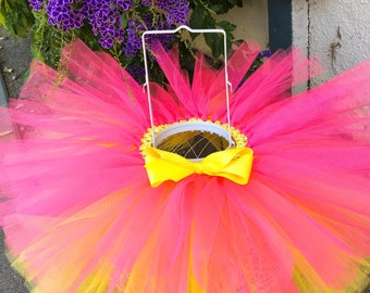 Neon Pink & Yellow Tutu
