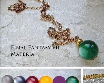 Final Fantasy VII MATERIA necklance