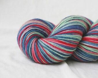 LOST HER MARBLES self-striping sock yarn