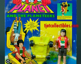 Captain Planet 1992 Series Mati with Rescue Pack Action Figure
