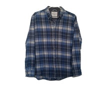 Popular items for plaid flannel shirt on etsy for Super soft flannel shirts