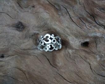 Silver ॐ ring-Sugati 088