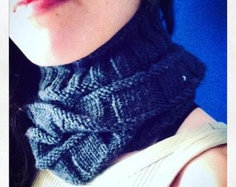 Bikers heaven - merino wool snood scarf