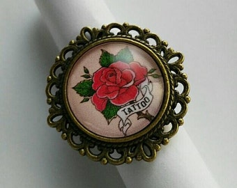 Ring Rose Tattoo