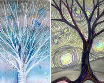 Four card set #3: trees