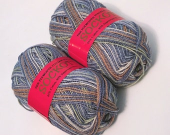 Yarn Bundle: Sockotta by Plymouth Yarn, col 605, 2 skeins | Sock Yarn