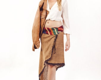 SALE! 40% discount. Skirt Essaouira Brown peak (before 70, 00EUR)