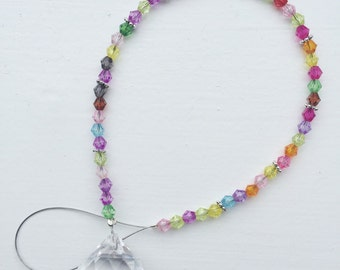 Beaded Crystal Suncatcher