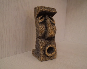 decorative sculpture, imitation stone, height 15 sm.