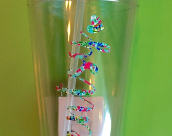 Custom Scentsy Tumbler - LilyPulitzer Patterns Available! - Wine Glass Tumbler - 16oz Skinny Tumbler - 32 oz Clear Tumbler