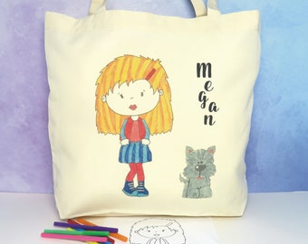 Design Your Own Avatar Tote Bag